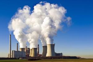 Braunkohlekraftwerk im Rheinland