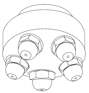 Düsenkopf von Düsenfabrik